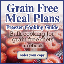 Grain Free and Gaps Diet Recipe E-Books