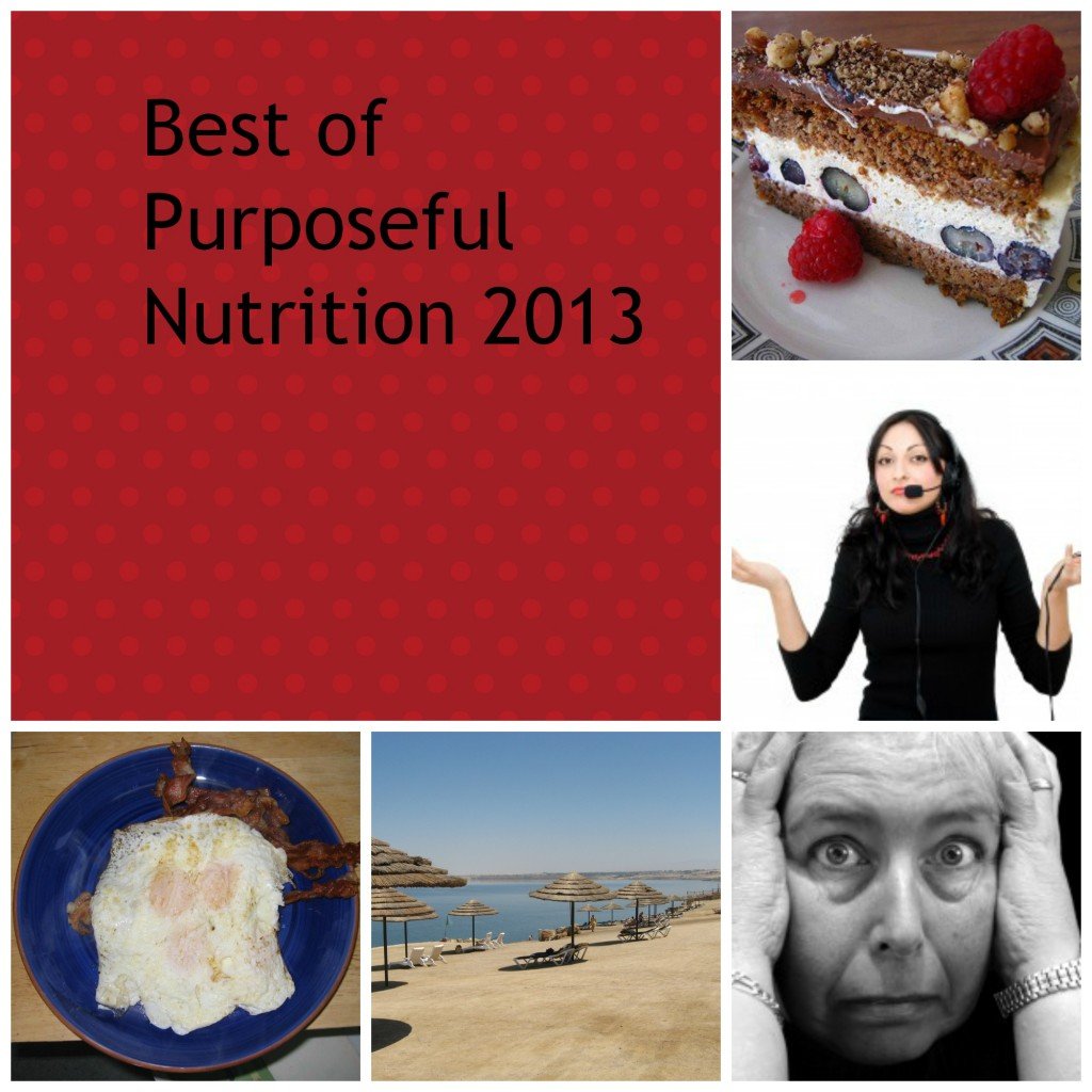 Top 5 Posts of 2013 at Purposeful Nutrition