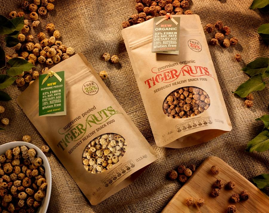 Tigernuts:  A Superfood Gluten Free Snack Review