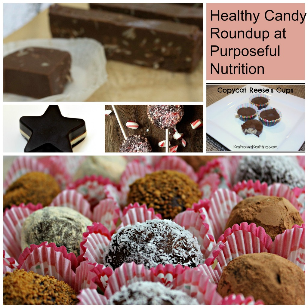 37 Healthy Candy Recipes from many different bloggers.