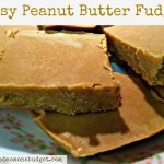 Easy Peanut Butter Fudge 2