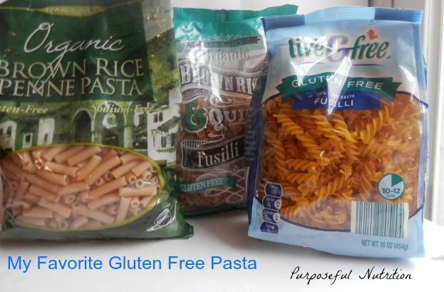 Gluten Free Pasta Review - Purposeful Nutrition