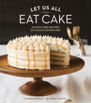 A review of the gluten free cake cookbook by Catherine Ruehle.