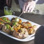 sweet-potatoes-with-sausage-and-arugula-sauce