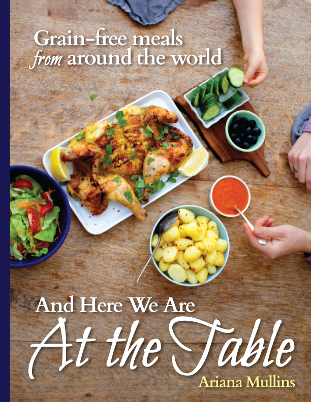 And Here We Are At The Table Book Review and Giveaway