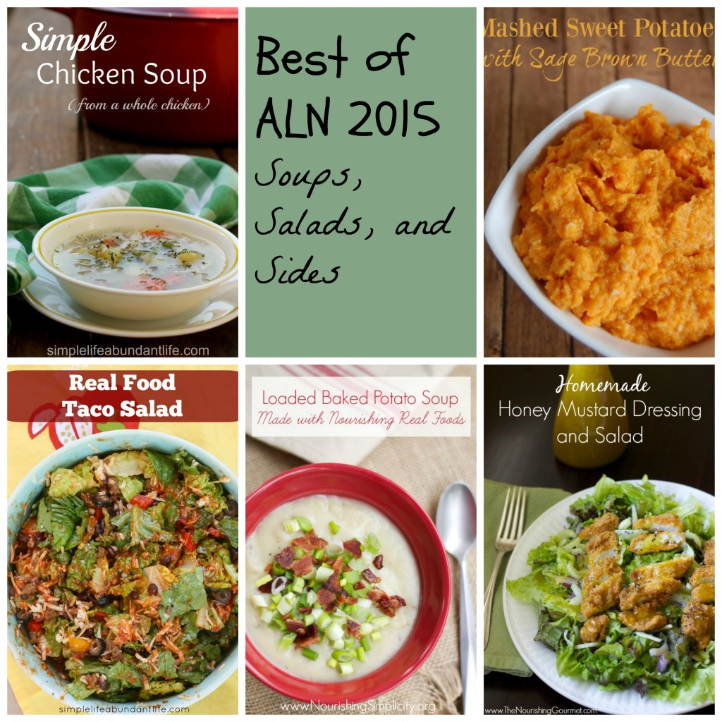 Best of ALN 2015 Soups, Salads, Sides