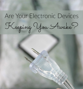 Melatonin and electrical devices