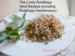 Rutabaga and REcipes