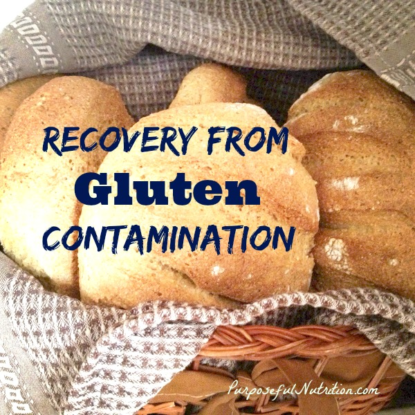 Recovery from Gluten Contamination