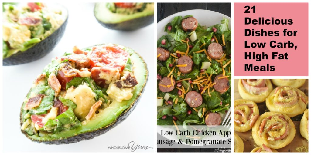 Low Carb, High Fat Recipe Round-Up