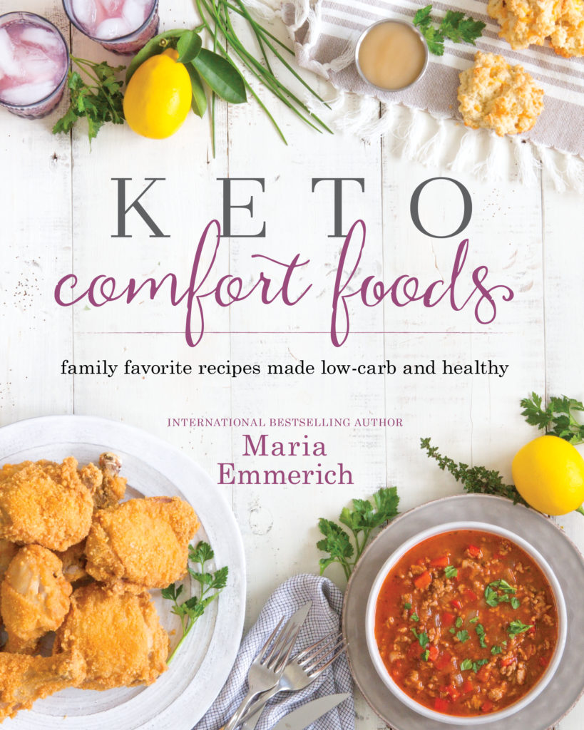 Keto Comfort Foods Cookbook Review