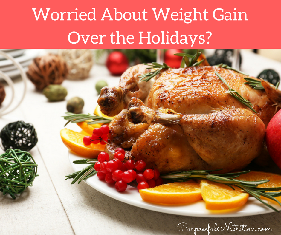 Worried About Weight Gain Over the Holidays?