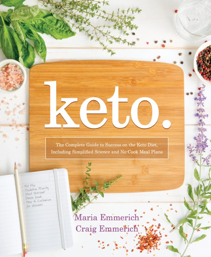 Book Review:  Keto by Maria and Craig Emmerich