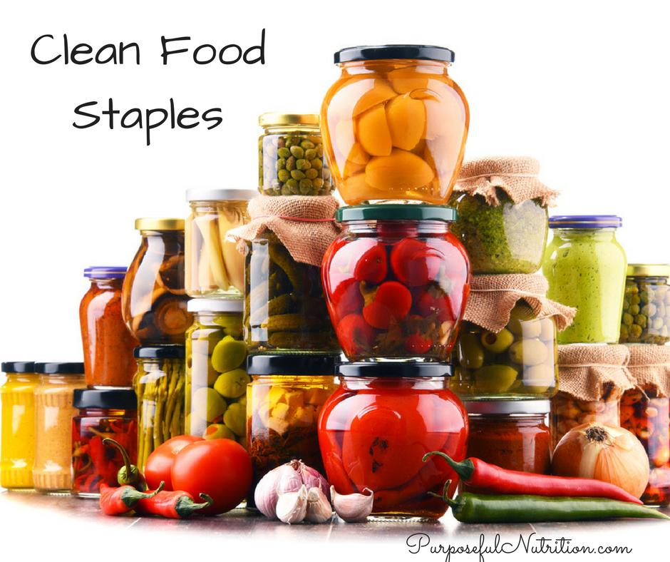 Clean Food Staples