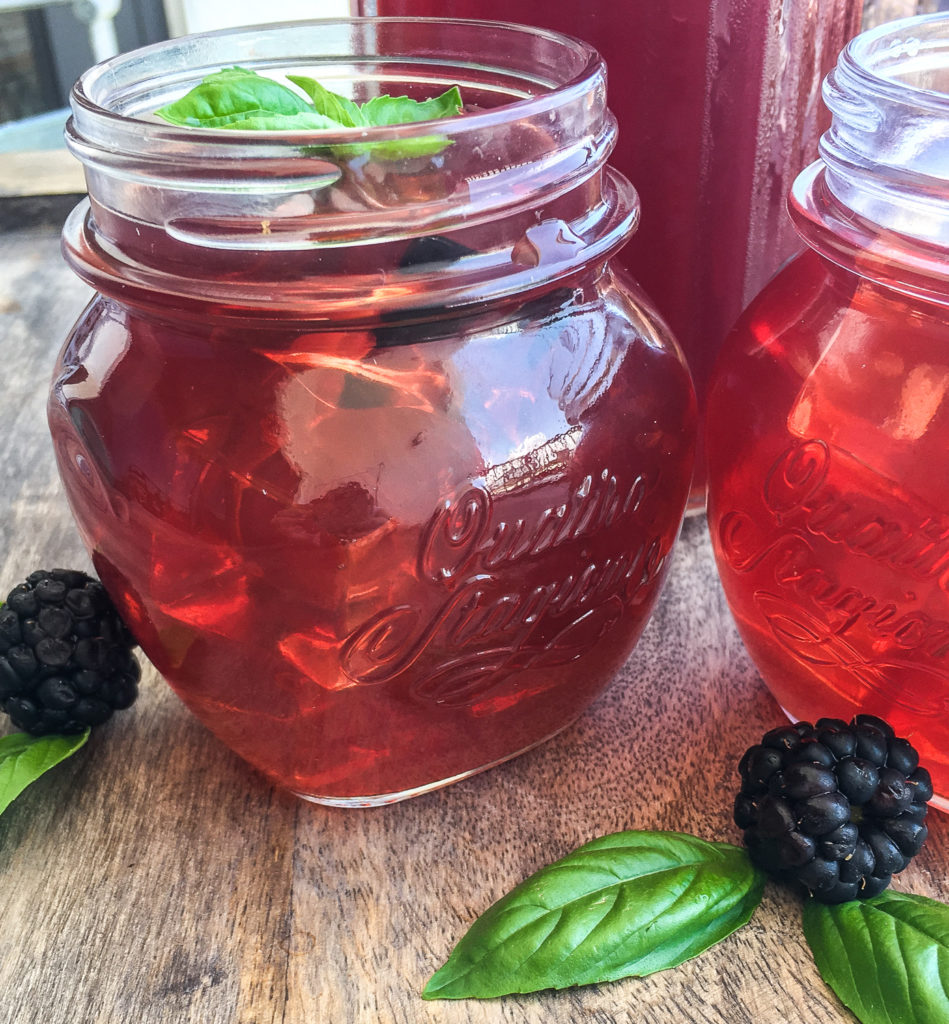 Instant Pot Blackberry Iced Tea