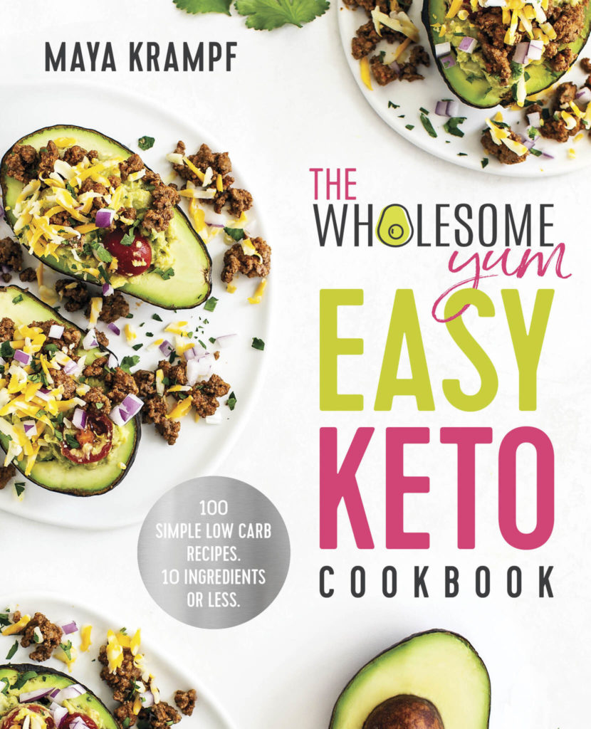 The Wholesome Yum Easy Keto Cookbook Breadsticks