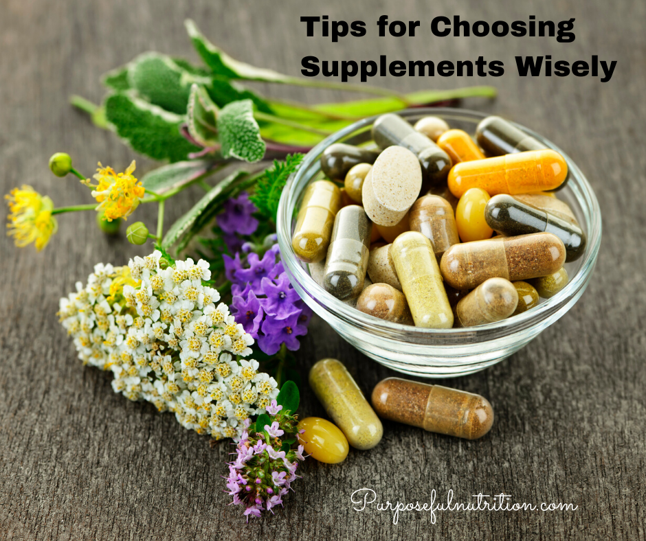 Tips for Choosing Supplements Wisely
